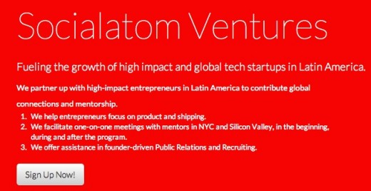 socialatom ventures 520x268 Colombia gets a new startup accelerator, Socialatom Ventures, backed by NXTP Labs