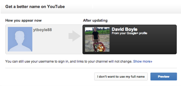 youtube googleplus YouTube now lets you link your channel with a Google+ profile, and Google+ page support coming soon