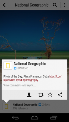1280 natgeo tweet android 220x390 12 of the best news, media and movie apps of 2012
