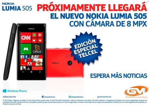 2012 12 04 09h46 43 520x366 Meet the Nokia Lumia 505, a low end Windows Phone 7.8 device headed to Mexico