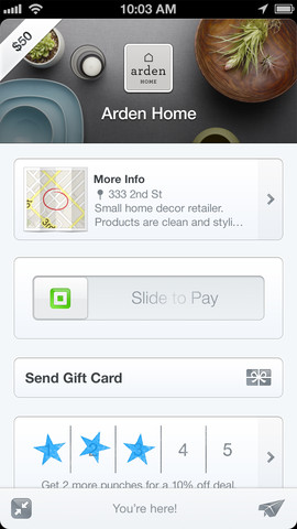 24 Square integrates Apples Passbook and introduces gift cards for iOS app users