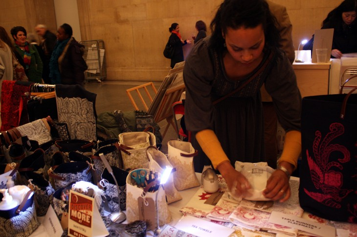 A little light purchasing 730x486 Etsy nails it with a night market event at Londons Tate Britain gallery