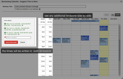 BoomerangCalendar 35 of the best productivity and lifehack apps of 2012