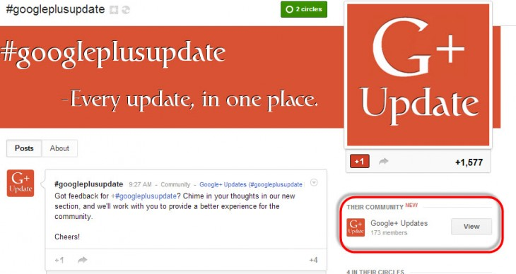 Google Plus Pages Communities 730x388 Googles Suggested Communities feature for Google+ aims to make it easier to discover new interests