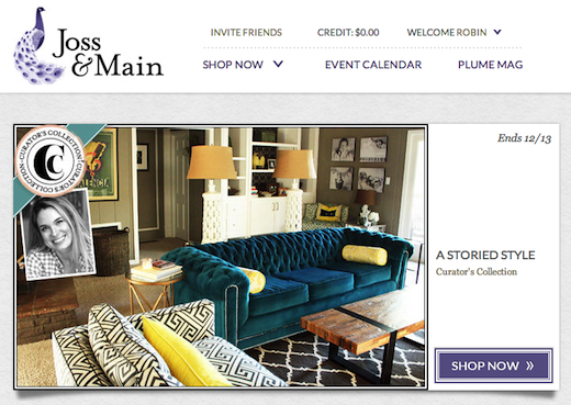 Joss and Main 144646 Online retail giant Wayfair lands $36.3m to grow its flash sales site for the home, Joss & Main
