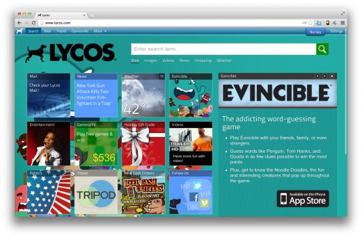Lycos dot com 520x341 Remember Lycos? Its planning a new search engine for launch in 2013