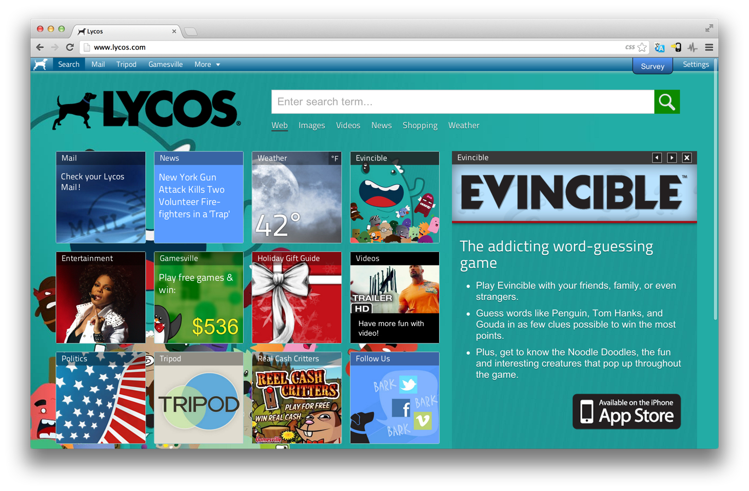 Remember Lycos? It's Planning a New Search Engine for 2013
