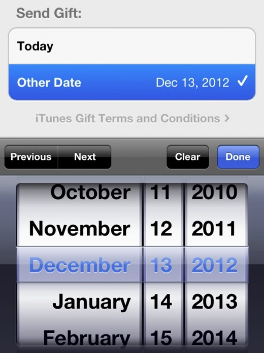 Screen Shot 2012 12 13 at 2.37.28 PM 520x693 Apple returns ability to gift apps from iOS 6 App Store, but makes it a bit obscure