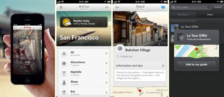 basic images 730x317 Evernote inspired Dcovery lets you build customized city guides to travel the world your way