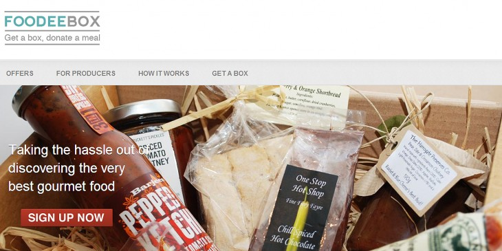 foodeebox screen 730x365 UK food subscription service Foodeebox acquires Larderbox to help fend off the competition