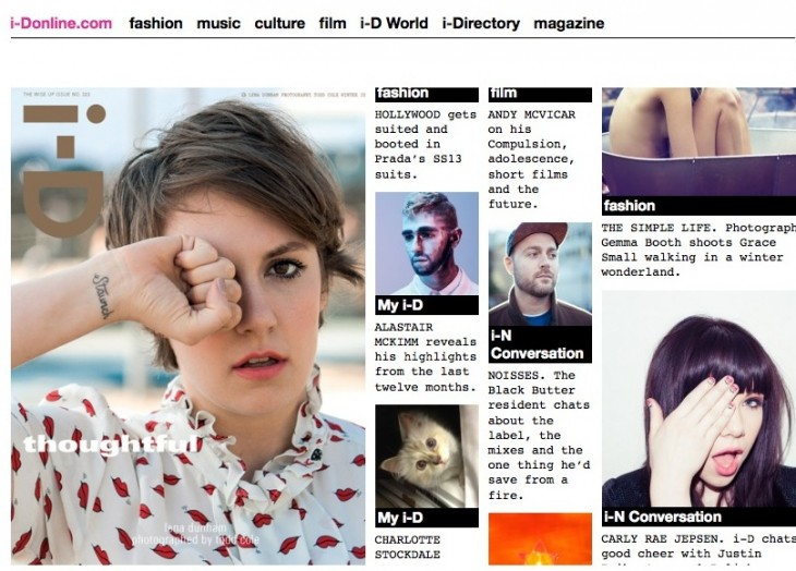 id online 730x524 VICE buys British style magazine i D to expand into fashion with new video channel
