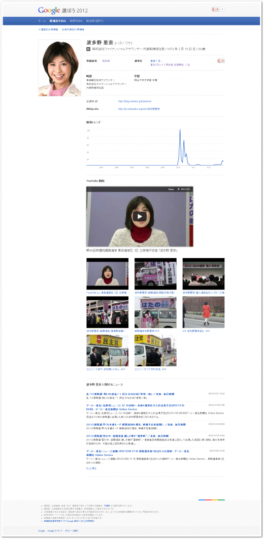 japan election 520x1061 Japans election gets social, as Prime Minister and 7 rivals set to Hangout on Google+