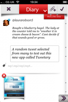 m 220x330 TNW Pick of the Day: Tweetary isnt just an iOS Twitter client, its a diary for all your tweets