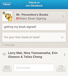 manager events app jon Foursquare now lets businesses add their own events to listings
