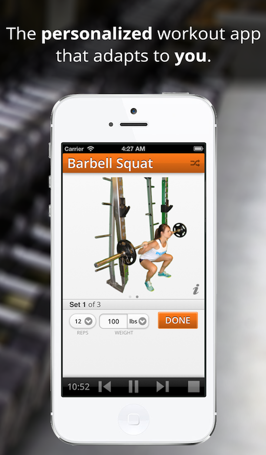pumpup Just in time for your New Years resolutions: Meet PumpUp, a personal iOS fitness coach