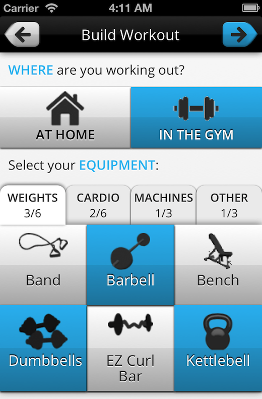 pumpup3 Just in time for your New Years resolutions: Meet PumpUp, a personal iOS fitness coach