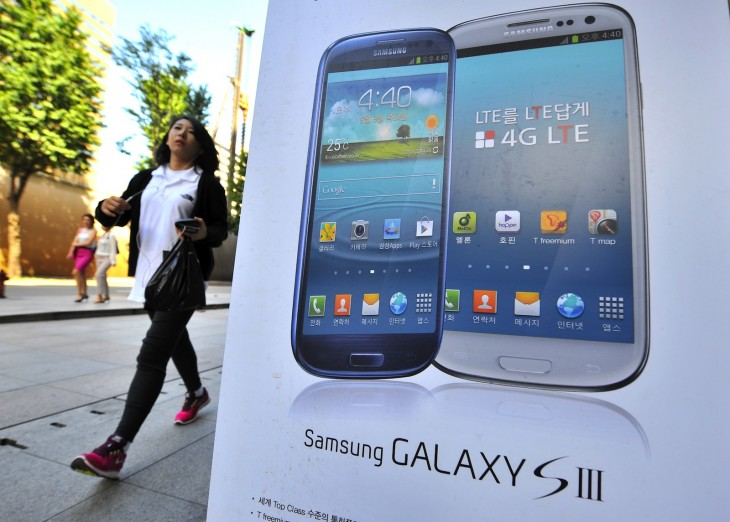 samsung galaxy sIII via getty images 730x522 2012s biggest tech news in pictures