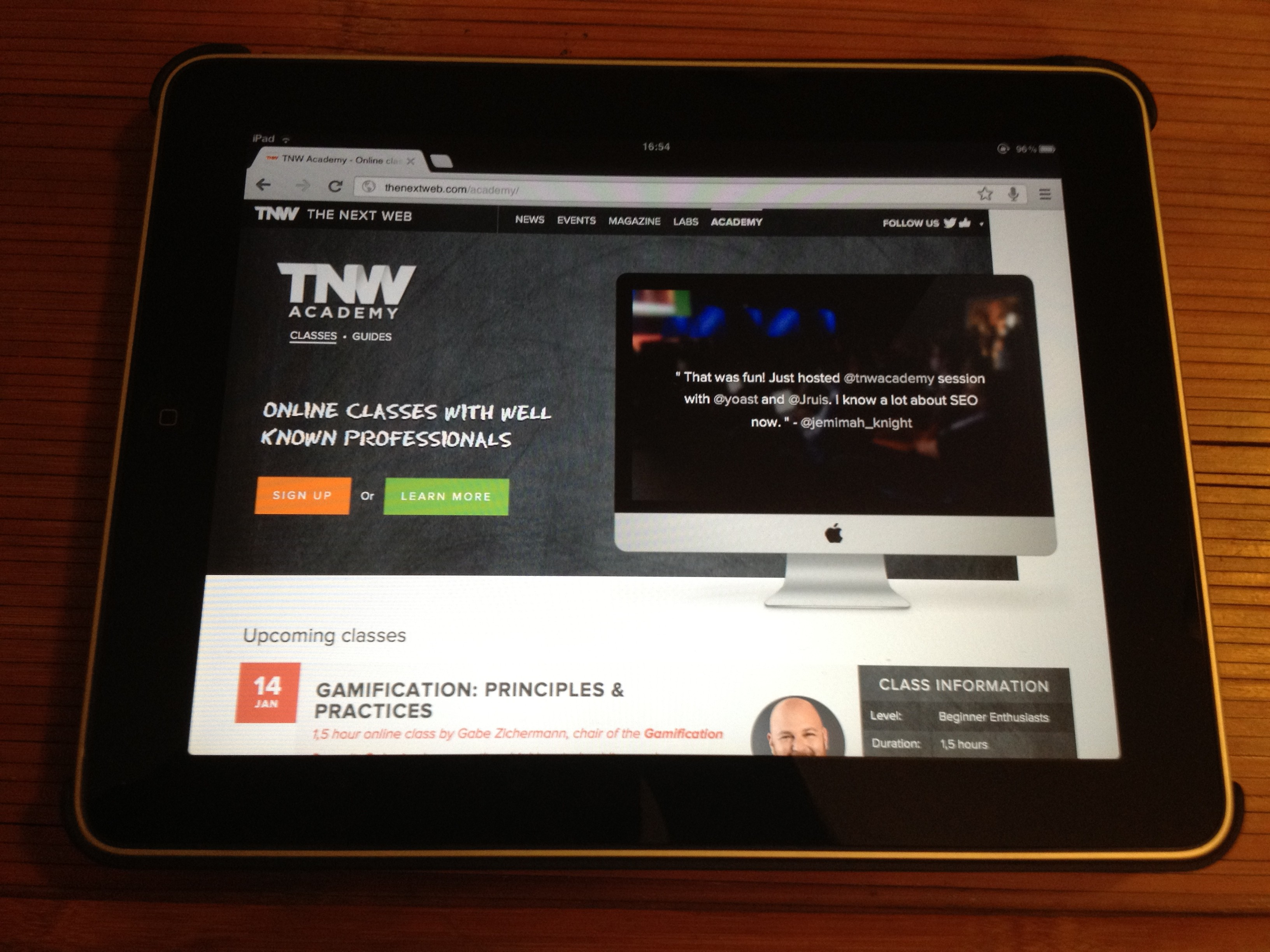 tnw academy classes and guide1 e1356729995699 From Internet freedom to TNW Conference: A year at The Next Web