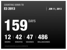 2013 01 02 10h17 06 220x164 Microsoft posts a countdown clock to E3, sparking speculation that the next Xbox is a mere 159 days away