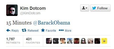 2013 01 19 09h52 42 After calling Barack Obama out on Twitter, Kim Dotcom has launched Mega, the replacement to Megaupload
