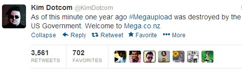 2013 01 19 09h53 40 After calling Barack Obama out on Twitter, Kim Dotcom has launched Mega, the replacement to Megaupload