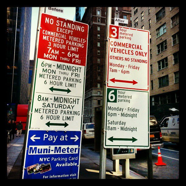 Pentagram redesigns NYCs parking signs so that they actually make sense