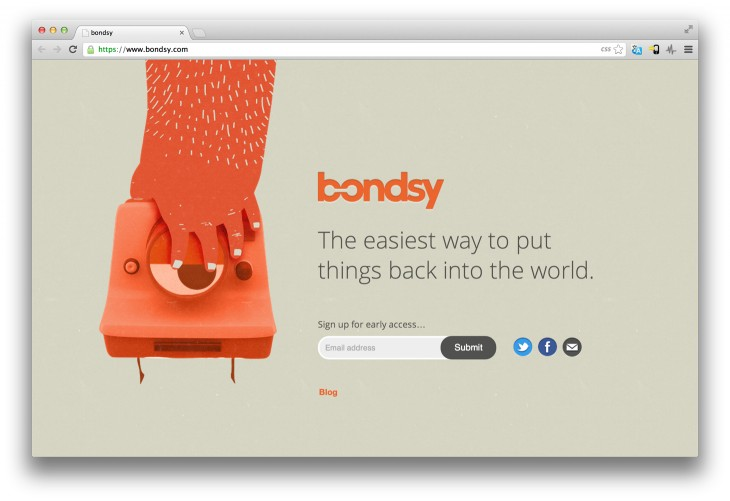 Bondsy 730x501 5 exciting new startups that havent launched yet