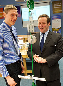 Ed Vaizey.jpeg University of Strathclydes Centre for White Space Communications officially opened by Ed Vaizey