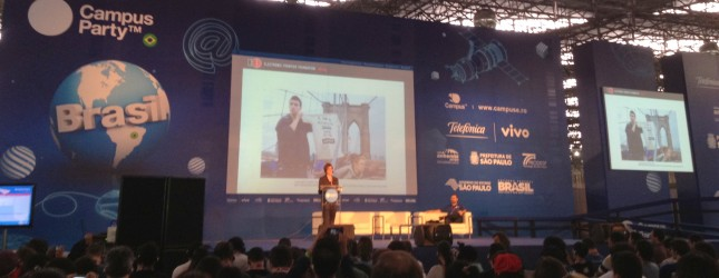 Rainey Reitman - EFF at Campus Party