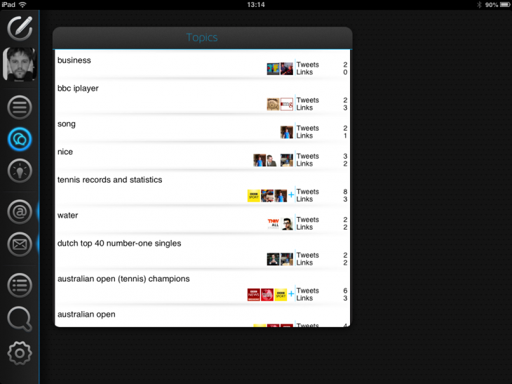 Photo 25 01 2013 13 14 39 730x547 Neatly tidies your Twitter timeline, letting you filter, highlight and mute tweets