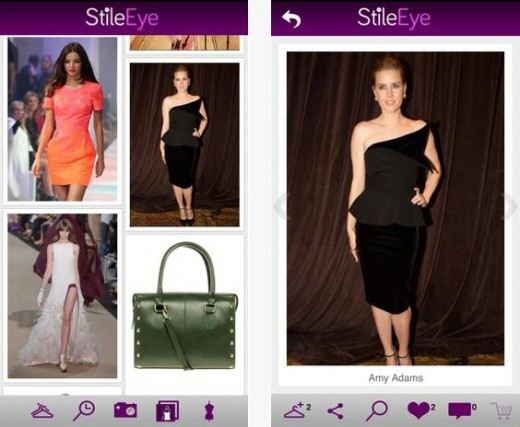 Screenshot 2 520x427 StileEye serves up fashion suggestions based on photos you take