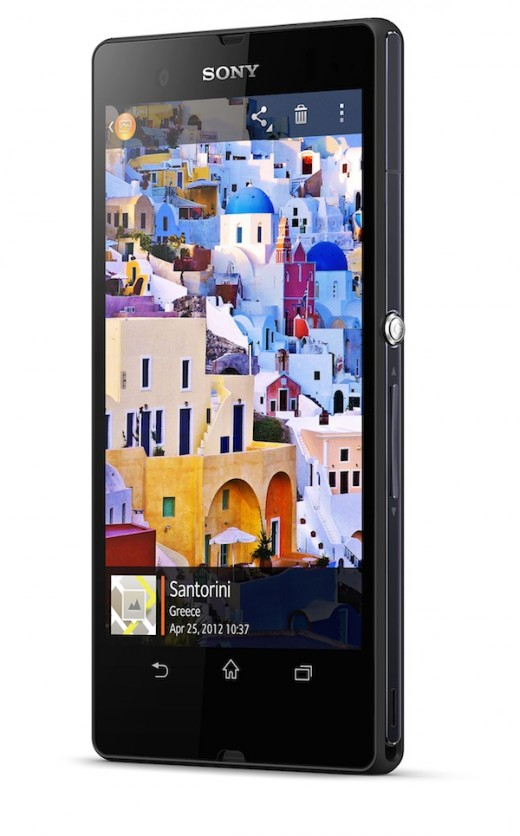 XperiaZ Sony 2 520x836 Sony announces flagship 5 inch Xperia Z Android smartphone with LTE and 13MP camera