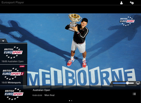 a9 Eurosport Player goes multiscreen, now requires only one subscription for all devices