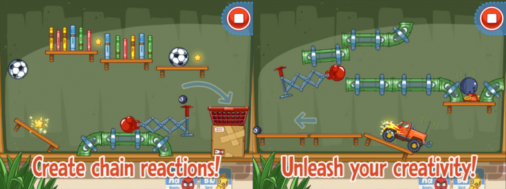 amazing alex free2 730x273 Rovio releases free, ad supported version of Amazing Alex for iPhone, iPad, and iPod touch