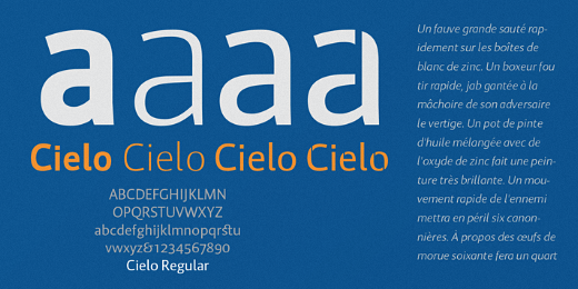 cielo 38 Of the most beautiful typeface designs released this winter