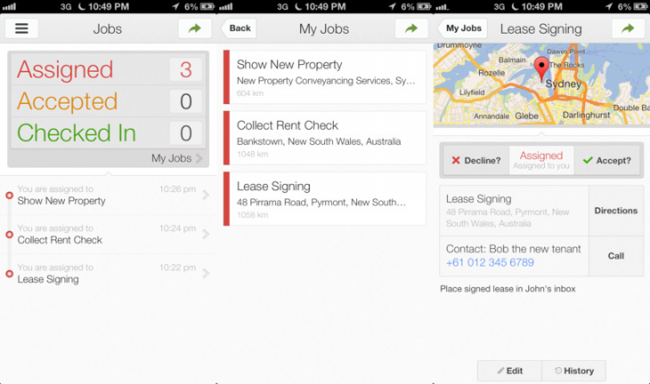 coordinate ios 730x432 Google launches dedicated iPhone app for its team logistics service Coordinate