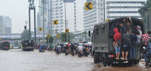 INDONESIA-WEATHER-FLOOD