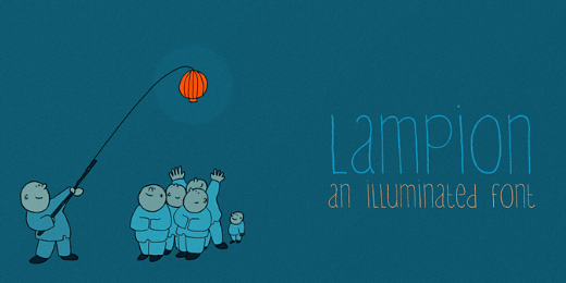 lampion 38 Of the most beautiful typeface designs released this winter
