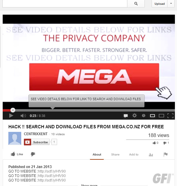 megascam1 Mega problems: Scammers try to make a buck, Anonymous calls for a boycott over Kim Dotcom snitching
