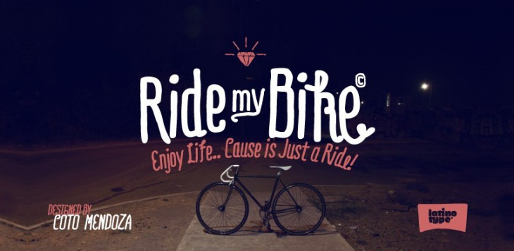 ridemybike1 730x356 Dlio: This blog digs up deals on type and design resources