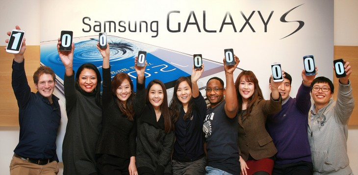samsung galaxy s 2 730x358 Samsungs Galaxy S series passes 100m global channel sales, as the Galaxy S3 tops 41m