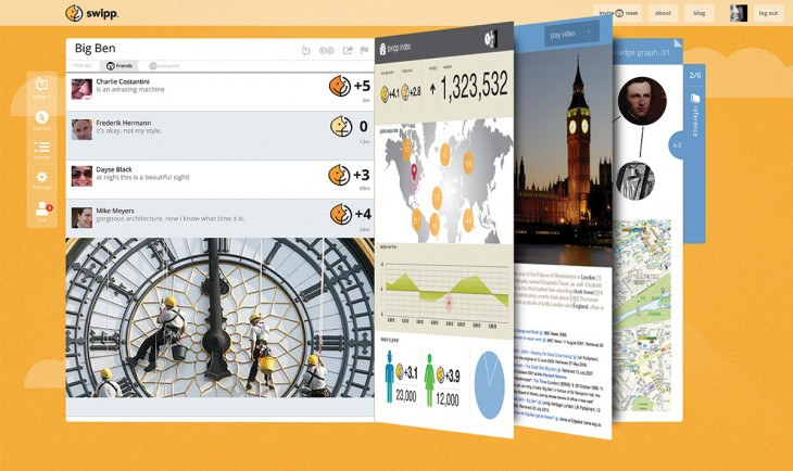 swipp web reference tabs 730x434 Swipp launches to take on Google and Facebook Graph Search with a new social intelligence search