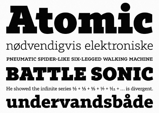 tabac slab 38 Of the most beautiful typeface designs released this winter