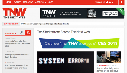 tnw 520x297 29 new inspiring responsive designs on the web