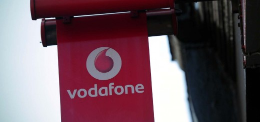 Vodafone sign Carl Court AFP Getty Images