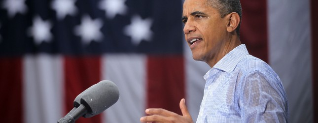 Obama Discusses Economy On Two-Day Campaign Swing Through Virginia