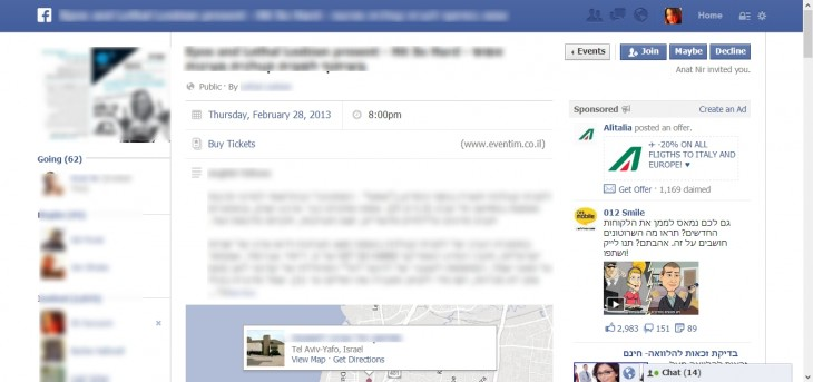 BuyTickets5 1 730x343 Facebook is testing Buy Tickets links for events, but will it get into the ticketing business? [Updated]