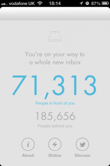 IMG 2874 220x330 Mailboxs user access queue is a work of frustrating genius