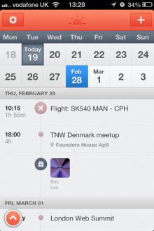 IMG 2935 220x330 Powerful, beautiful app Sunrise will replace your default iOS calendar: Heres why