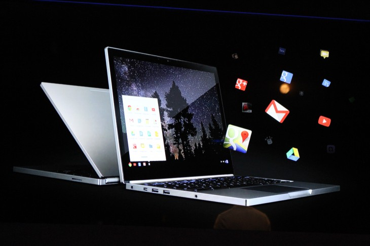 IMG 7380 730x486 Google unveils 12.85 touch screen Chromebook Pixel with a 2560x1700 display, starting today at $1,299